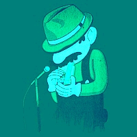 Blues Man Image
